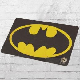 Logoshirt DC Comics Batman Logo Frühstücksbrettchen schwarz gelb
