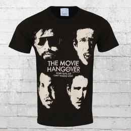 Logoshirt Herren T-Shirt Hangover Some Guys black