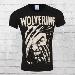 Logoshirt Herren T-Shirt Marvel Wolverine black