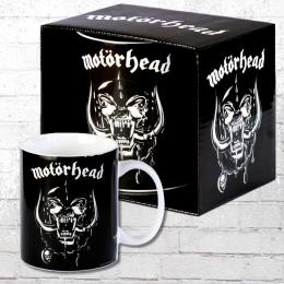 Logoshirt Kaffeebecher Tasse Motörhead Mug schwarz
