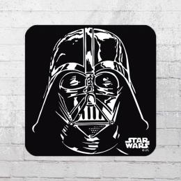 Logoshirt Star Wars Darth Vader Coaster Untersetzer schwarz weiss