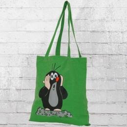 Logoshirt Stoffbeutel Der Kleine Maulwurf grün