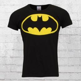 Logoshirt T-Shirt Männer Batman Classic Logo schwarz XXL