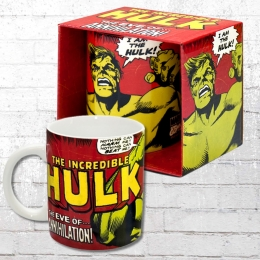Logoshirt Tasse Mug I Am The Hulk Kaffeebecher rot