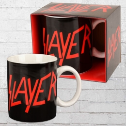 Logoshirt Tasse Mug Slayer Logo Kaffeebecher schwarz