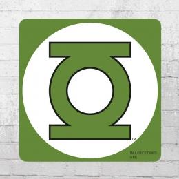 Logoshirt Untersetzer Coaster 6er Set DC Green Lantern grün