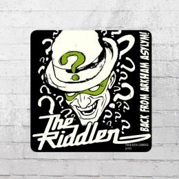 Logoshirt Untersetzer Coaster Batman The Riddler black