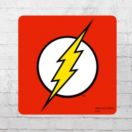 Logoshirt Untersetzer Coaster DC Flash red