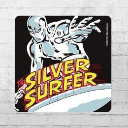 Logoshirt Untersetzer Coaster Marvel Silver Surfer bunt