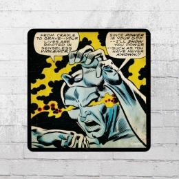 Logoshirt Untersetzer Coaster Marvel Silver Surfer Senseless Violence