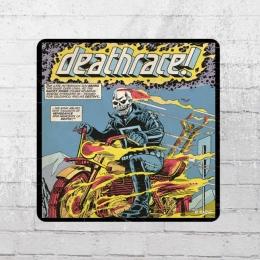 Logoshirt Untersetzer Marvel Comic Ghost Rider Deathrace Coaster
