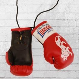Lonsdale London 1 Paar Mini Box Handschuhe rot