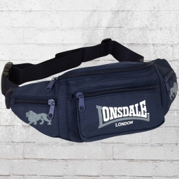 Lonsdale London Bumbag Gürteltasche blau grau
