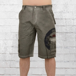 Lonsdale London Cargo Short Dundrennan grau