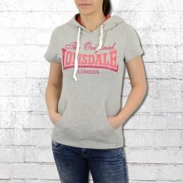 Lonsdale London Damen Kapuzensweater Trowbridge grau