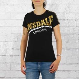 Lonsdale London Frauen T-Shirt Langrick schwarz