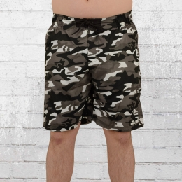 Lonsdale London Herren Badeshorts Lothrop grau camouflage