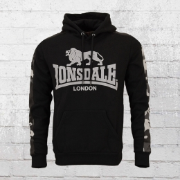 Lonsdale London Herren Kapuzen Sweater Santley schwarz