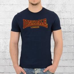 Lonsdale London Herren T-Shirt Classic blau