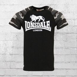 Lonsdale London Herren T-Shirt Kensington schwarz