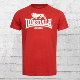 Lonsdale London Herren T-Shirt St. Erney rot