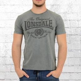 Lonsdale London Herren T-Shirt Wendover vintage grau