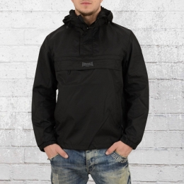 Lonsdale London Herren Windbreaker Jacke Blockbreaker schwarz