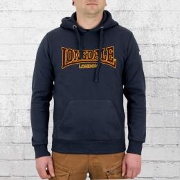 Lonsdale London Kapuzensweater Classic Hoody Herren blau