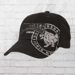 Lonsdale London Leiston B Cap schwarz
