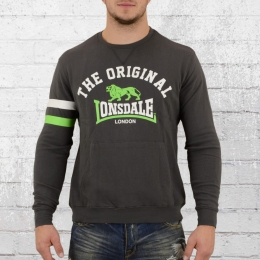 Lonsdale London Männer Sweater Hereford grau