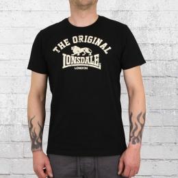 Lonsdale London Männer T-Shirt Original schwarz