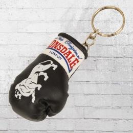 Lonsdale London Mini Boxhandschuh Schlüsselanhänger schwarz