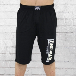Lonsdale London Short Jersey Logo Jam Shorts schwarz