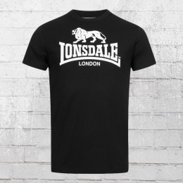 Lonsdale London St. Erney Herren T-Shirt schwarz