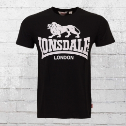 Lonsdale London Shirt Men Caol black