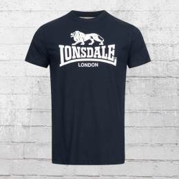 Lonsdale London T-Shirt St. Erney blau