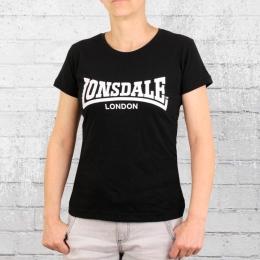 Lonsdale T-Shirt Frauen Cartmel schwarz