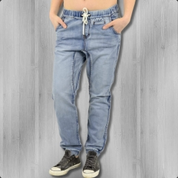 All About Eve Jogjeans Denim Lounge Jeans Jogginghose blau