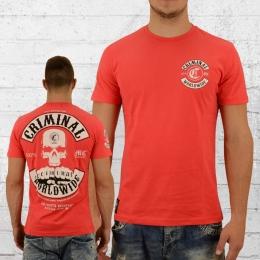 Mafia and Crime Herren T-Shirt Criminal rot
