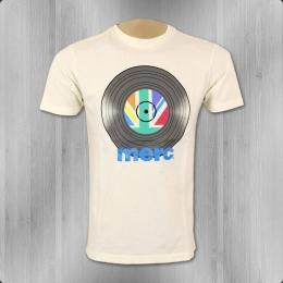 Merc London T-Shirt Herren Mantell off white