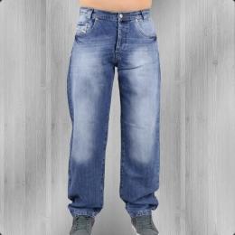 Viazoni Jeans Hose Marlo Loose Fit blau