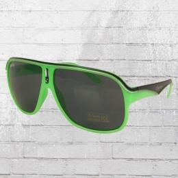 MasterDis Sonnenbrille KMA Racer Shades lime black