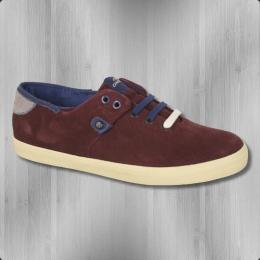 O'Neill Damen Sneaker Maui LTR red mahogany suede