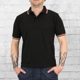 Mc Allister Herren Polo Shirt schwarz