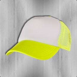 MasterDis Trucker Mesh Cap neon yellow white