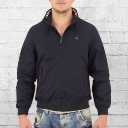 Merc London Limitierte Harrington Männer Jacke Fifty blau
