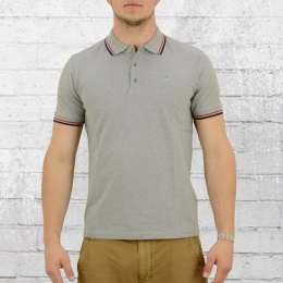 Merc London Männer Polo Shirt Card grau melange