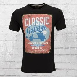 Merc London Männer T-Shirt Walton schwarz