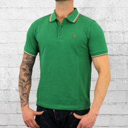 Merc London Polo Shirt Herren Card grün