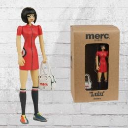 Merc London Puppe Lulu and Bag Sammelfigur Mods rot